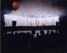 磯部温泉祭:水中花火