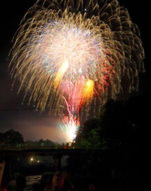 磯部温泉の大花火大会で、コロナを吹き飛ばしたい!!!